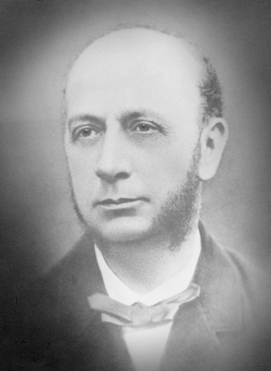portrett, ekspedisjonssekretær, Christian Hans Smith Hefty