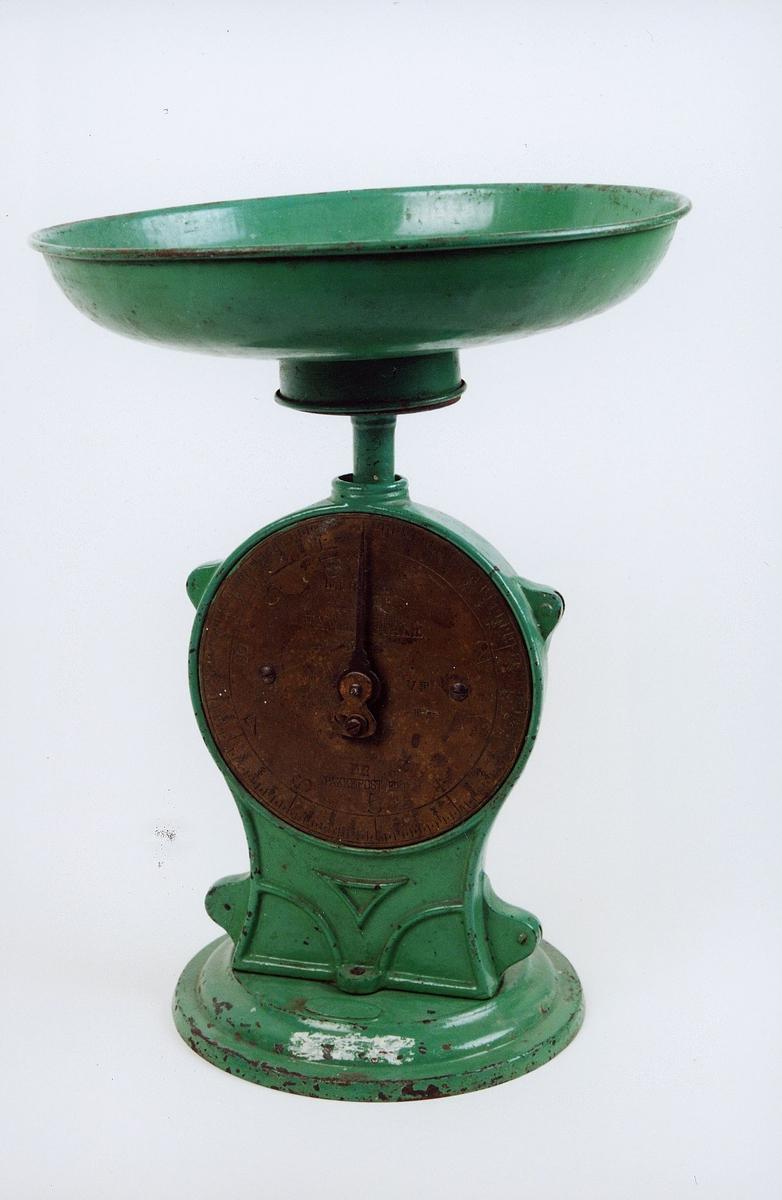 postmuseet, gjenstander, vekt, pakkevekt, Salter No 50