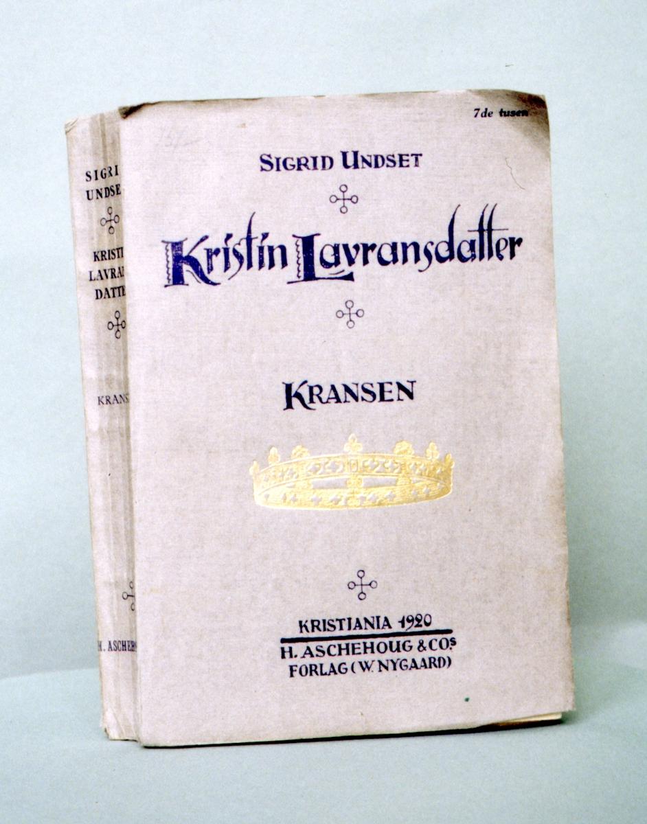 DOK:1995, Kristin Lavransdatter, bokomslag,