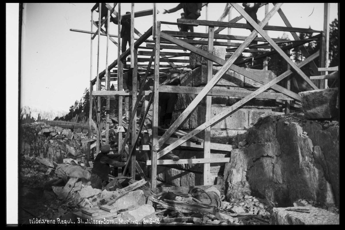 Arendal Fossekompani i begynnelsen av 1900-tallet CD merket 0474, Bilde: 55 Sted: Nisser