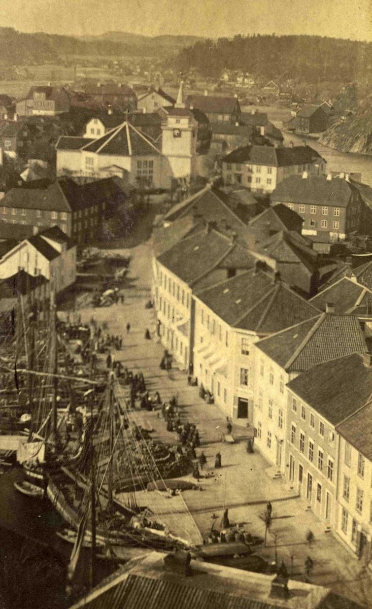 Arendal og omegn - Fra John Ditlef Fürst fotoalbum - Kirkegaten - AAks 44 - 4 - 7 - Bilde nummer 33