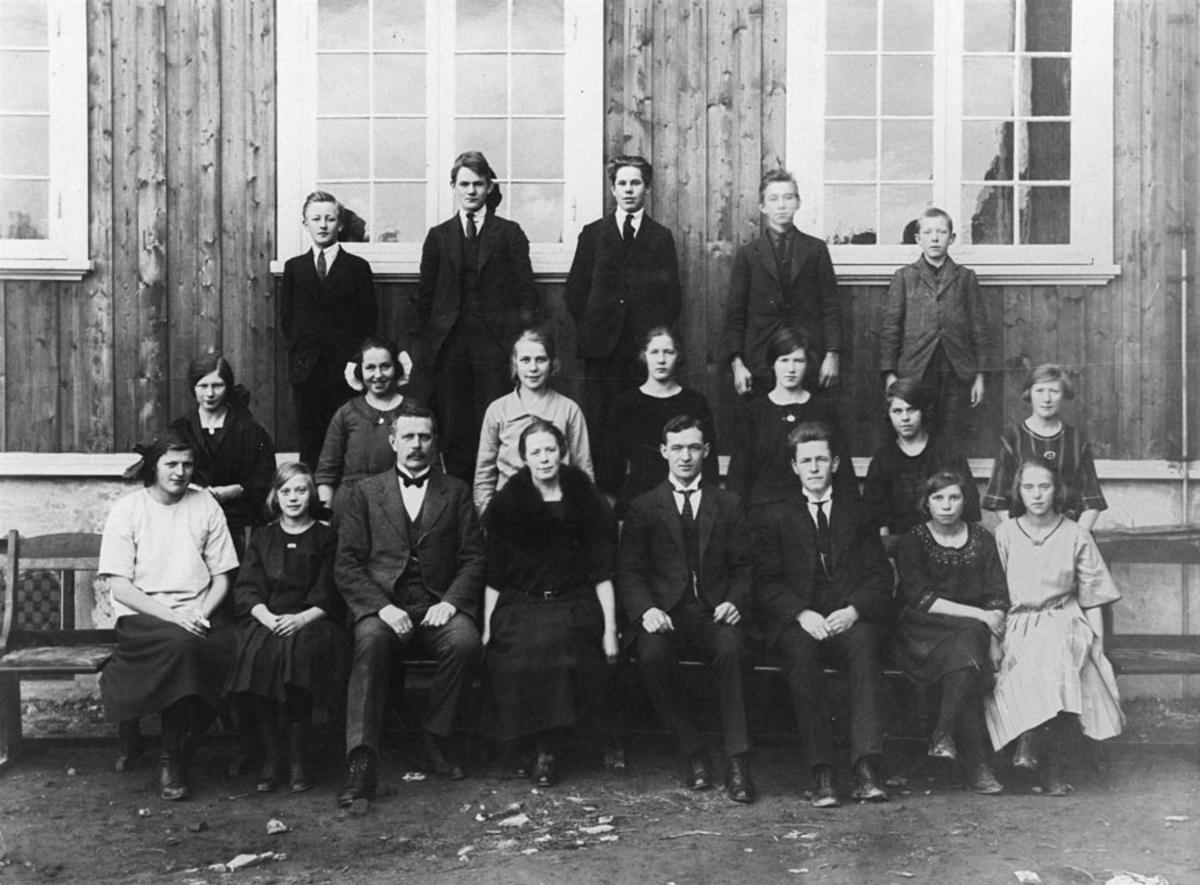 Ski fortsettelsesskole 1921