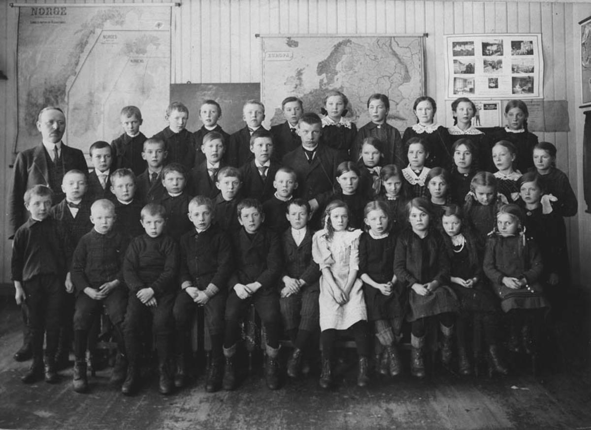 Skolebilde, Gjedsø skole