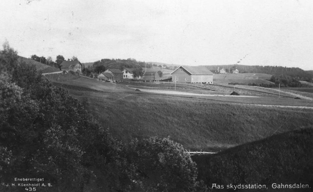 Søndre Ås i Dalen, var skysstasjon.