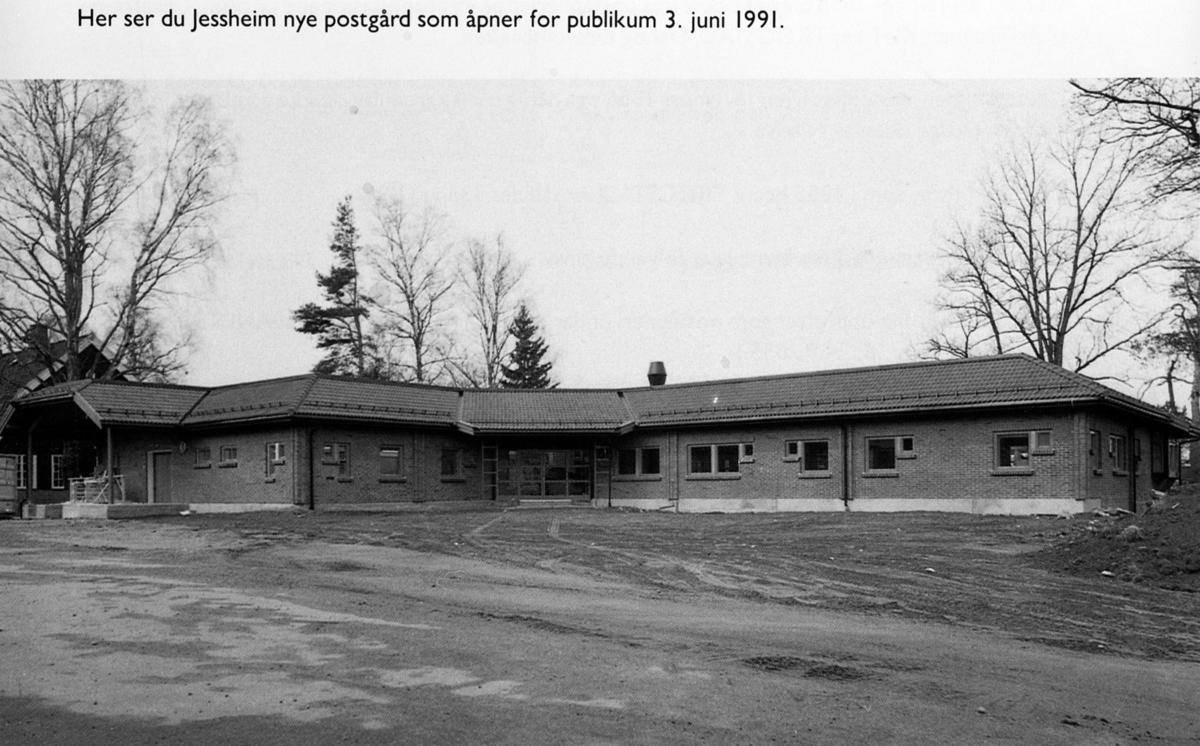 Jessheims nye Postkontor åpnet 3.6.1991