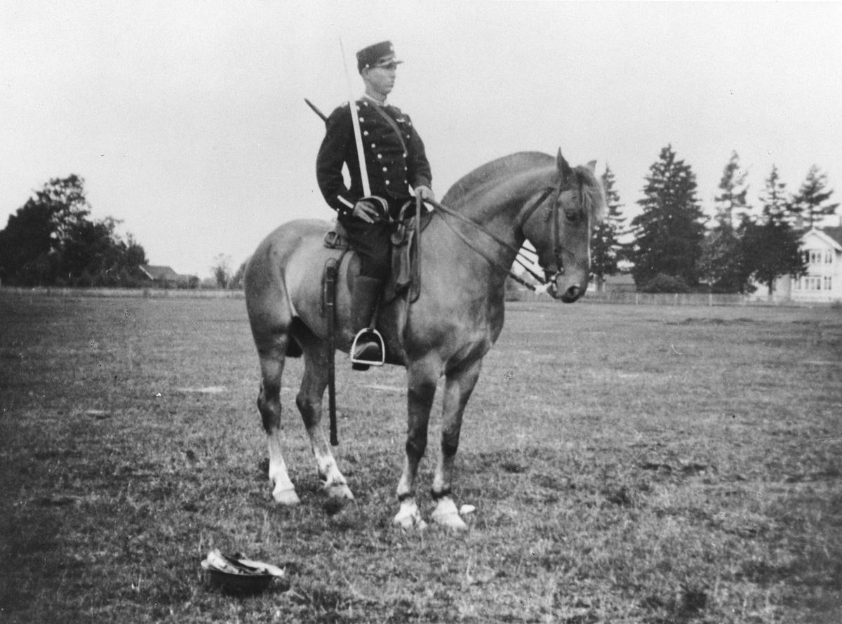Kavallerist til hest