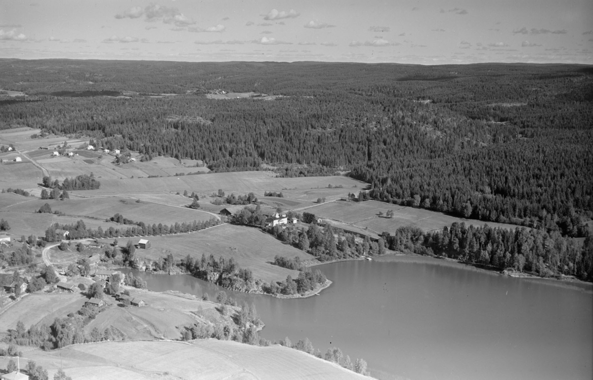 AURSKOG-HØLAND FOSSERSJØEN/FOSSER GÅRD LANDSKAP