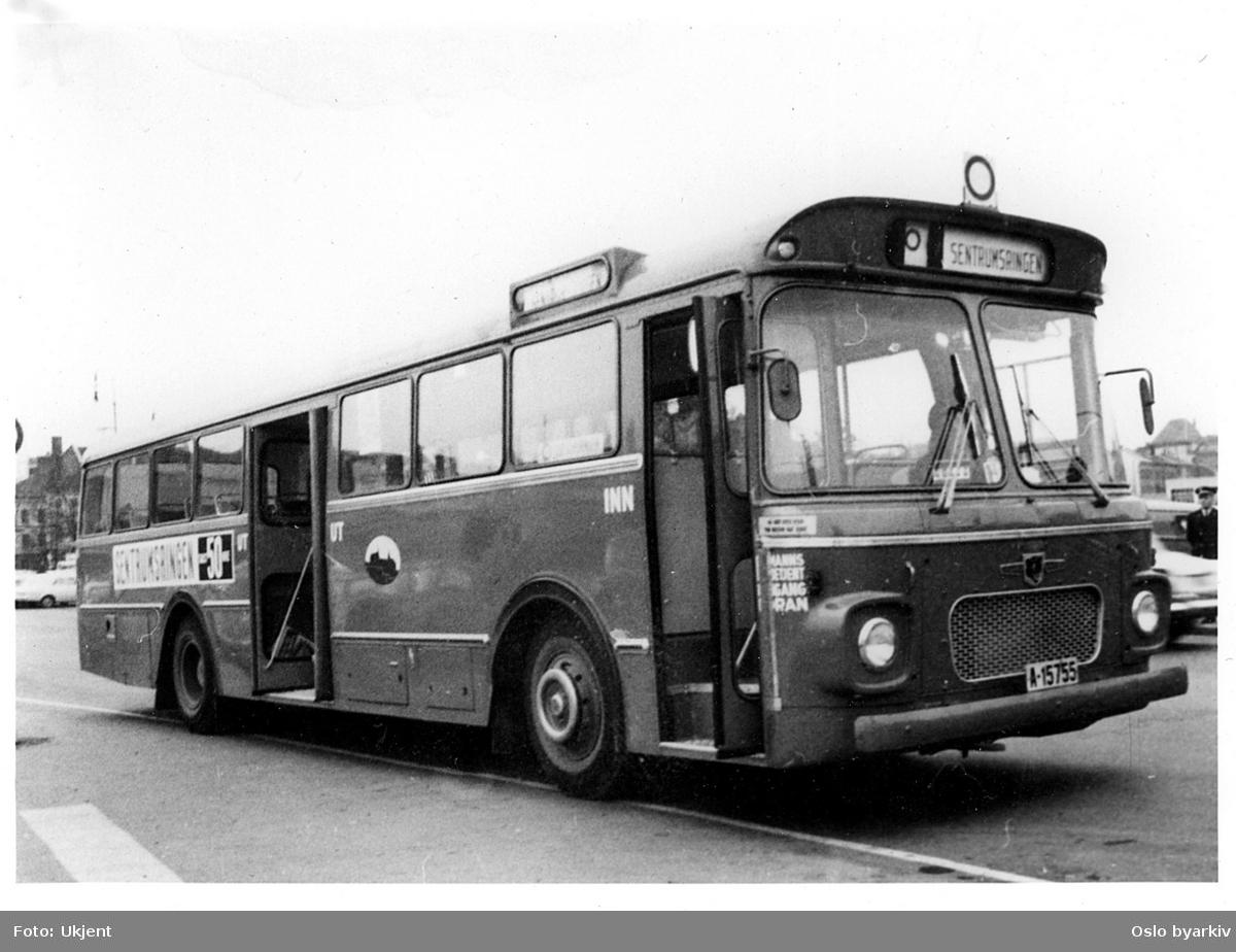 Oslo Sporveiers, A-15755, VBK/Leyland, 1966