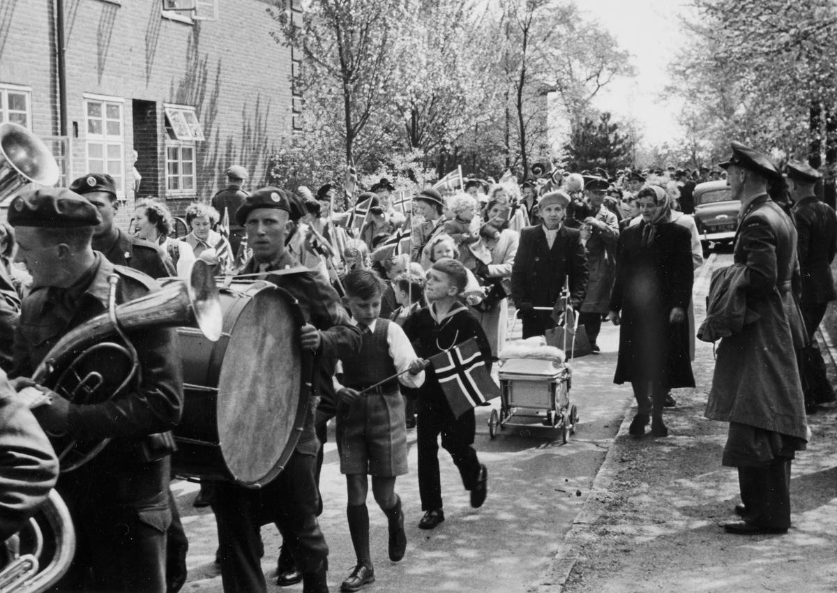 Feiring av 17. mai i Schleswig.