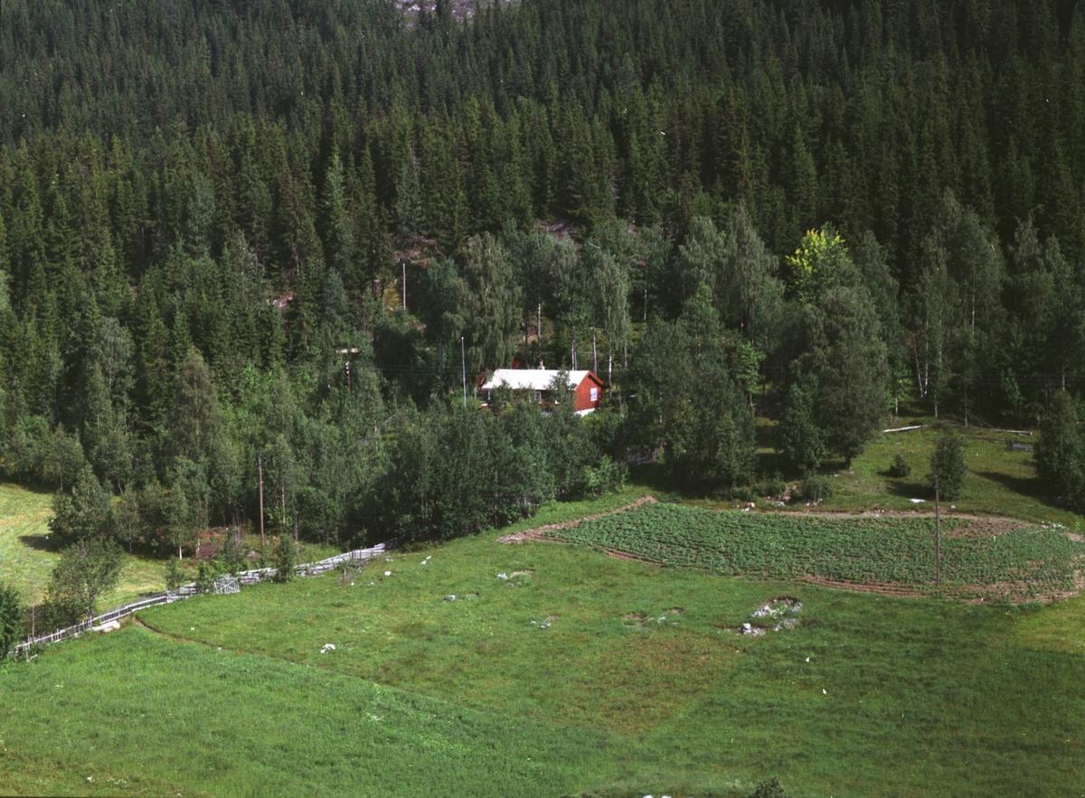Flyfoto, ukjent sted, Mesnalia, Ringsaker.