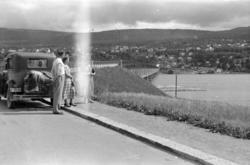 VINGROMBRUA, LILLEHAMMER. BIL E-3508. Ford A 1930-31. I Norg