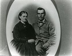Bernt Theodor Aas og fru Anna. B.T. Aas var født i Trondhei