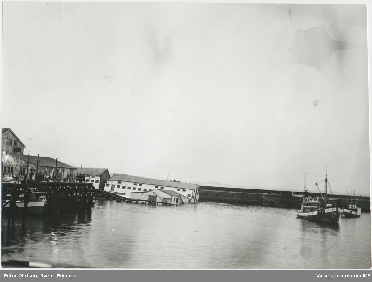 Finotros kaianlegg i Nordre Våg, mai 1973