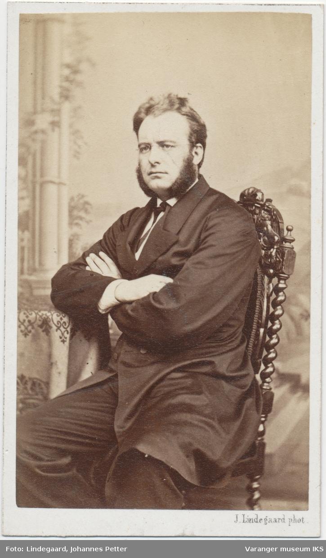 Portrett, Johan Carl Richard Wisløff, 1867