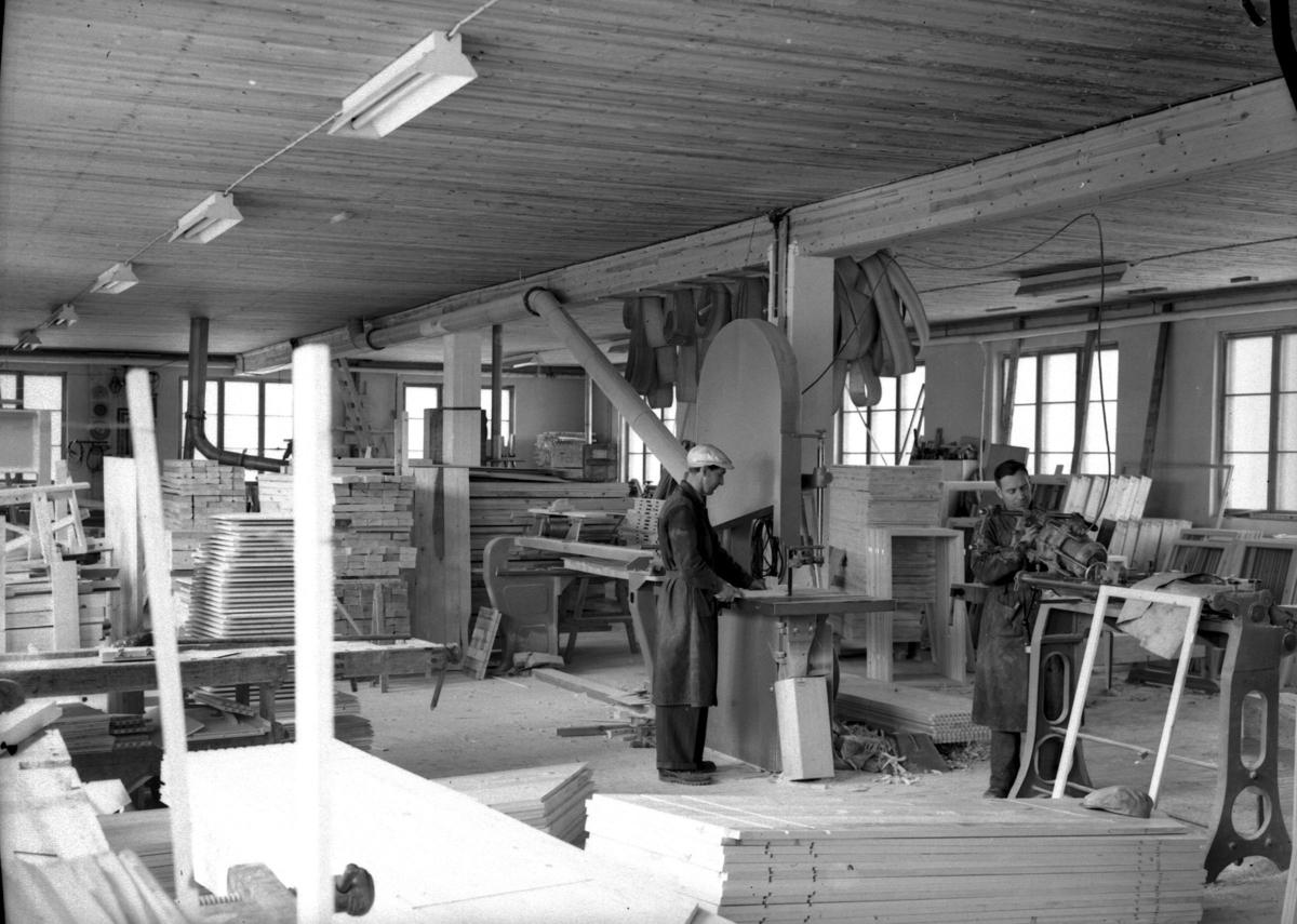 MoTre, interiør, 1954
