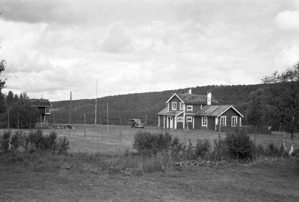 Johan Falkbergets hjemsted Ratvollen