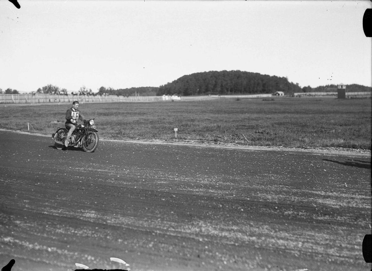 Norgesmesterskapet på  motorsykkel 1933