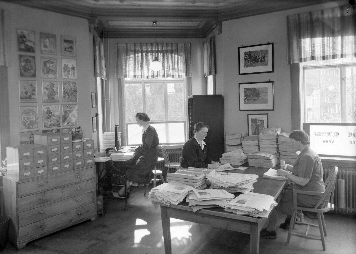 Kontor hos Norges Finnemisjonsselskap