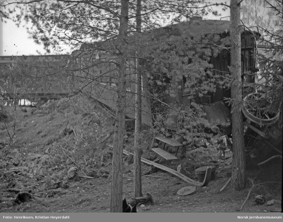 Togulykken 10.10.1935 på Randsfjordbanen