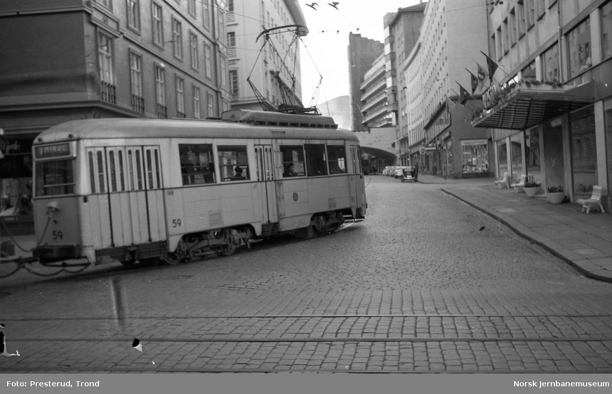 Bergen Sporveier sporvogn 59