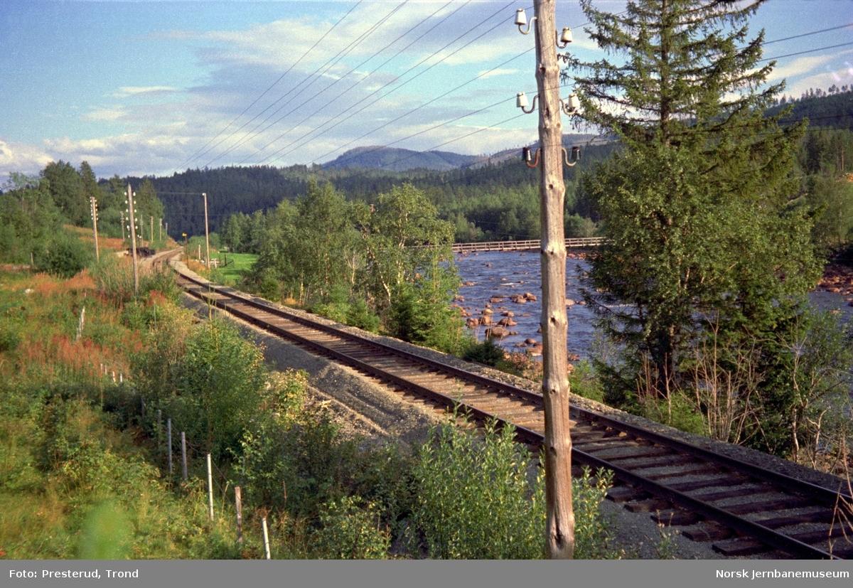 Rørosbanen ved Hinbjørgen