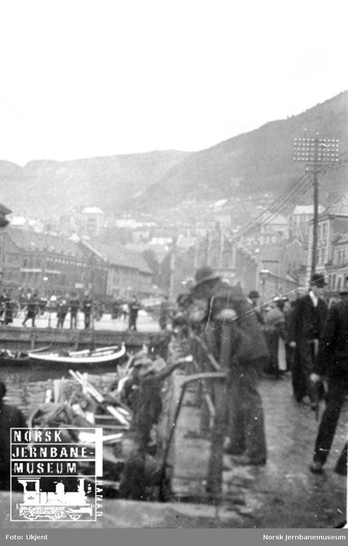 Bybilde fra Bergen