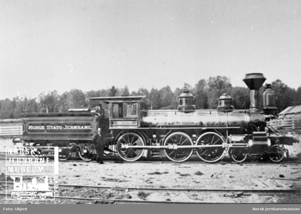 "Damplokomotiv type 14a nr. 12 ""Baldwin"""