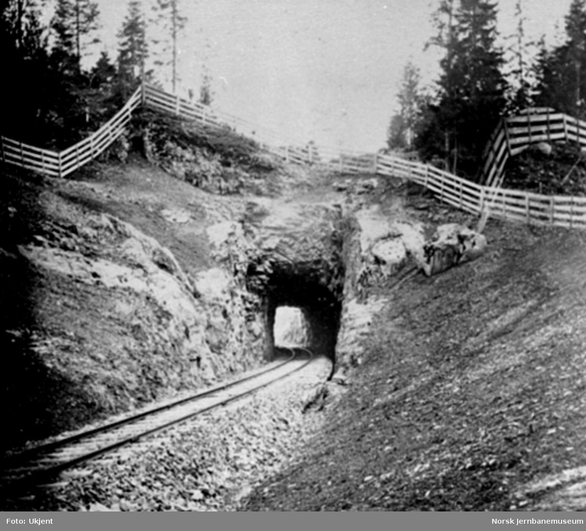 Solstad (Hvalstad) tunnel
