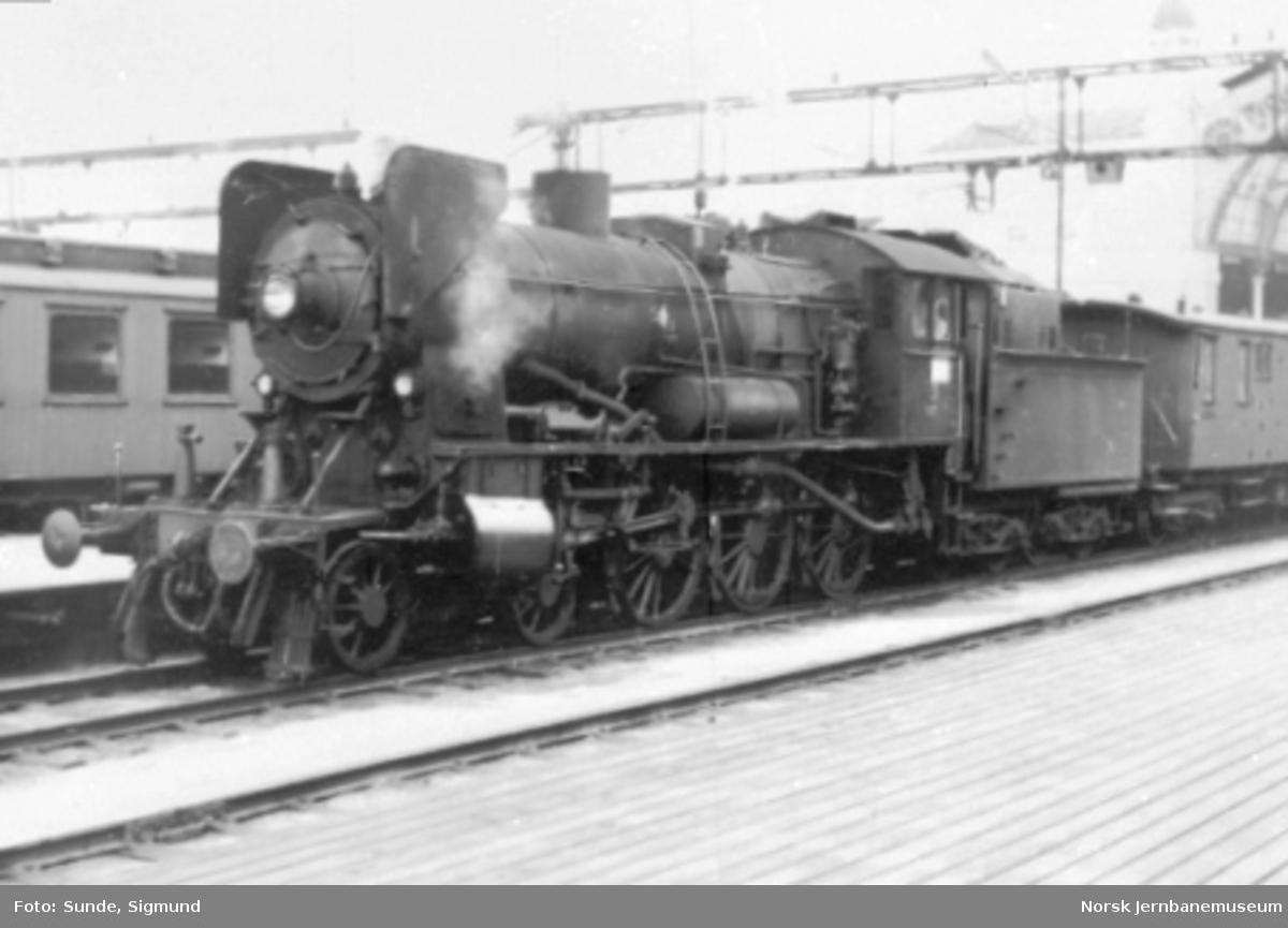 Damplokomotiv type 30b nr. 347