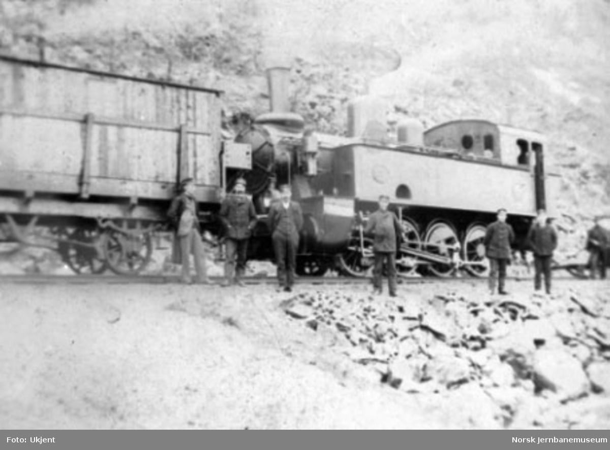 LKAB damplokomotiv (SJ litra N) i Narvik