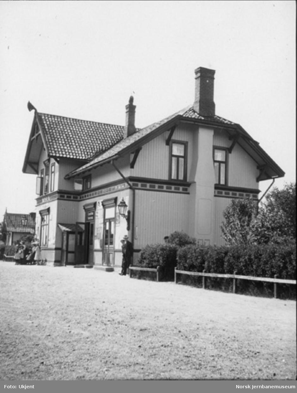 Nor stasjonsbygning
