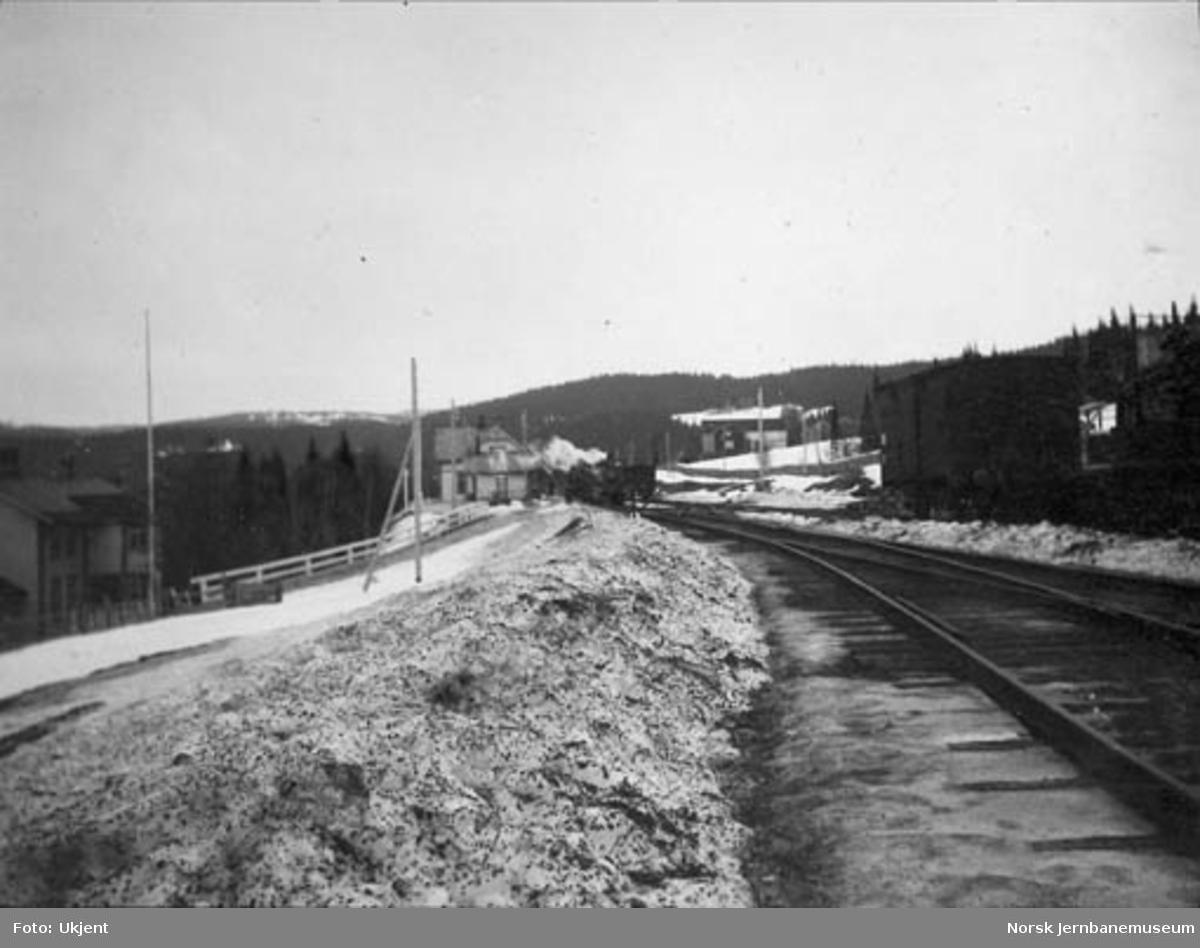 Meråker stasjon, fotografert fra øst