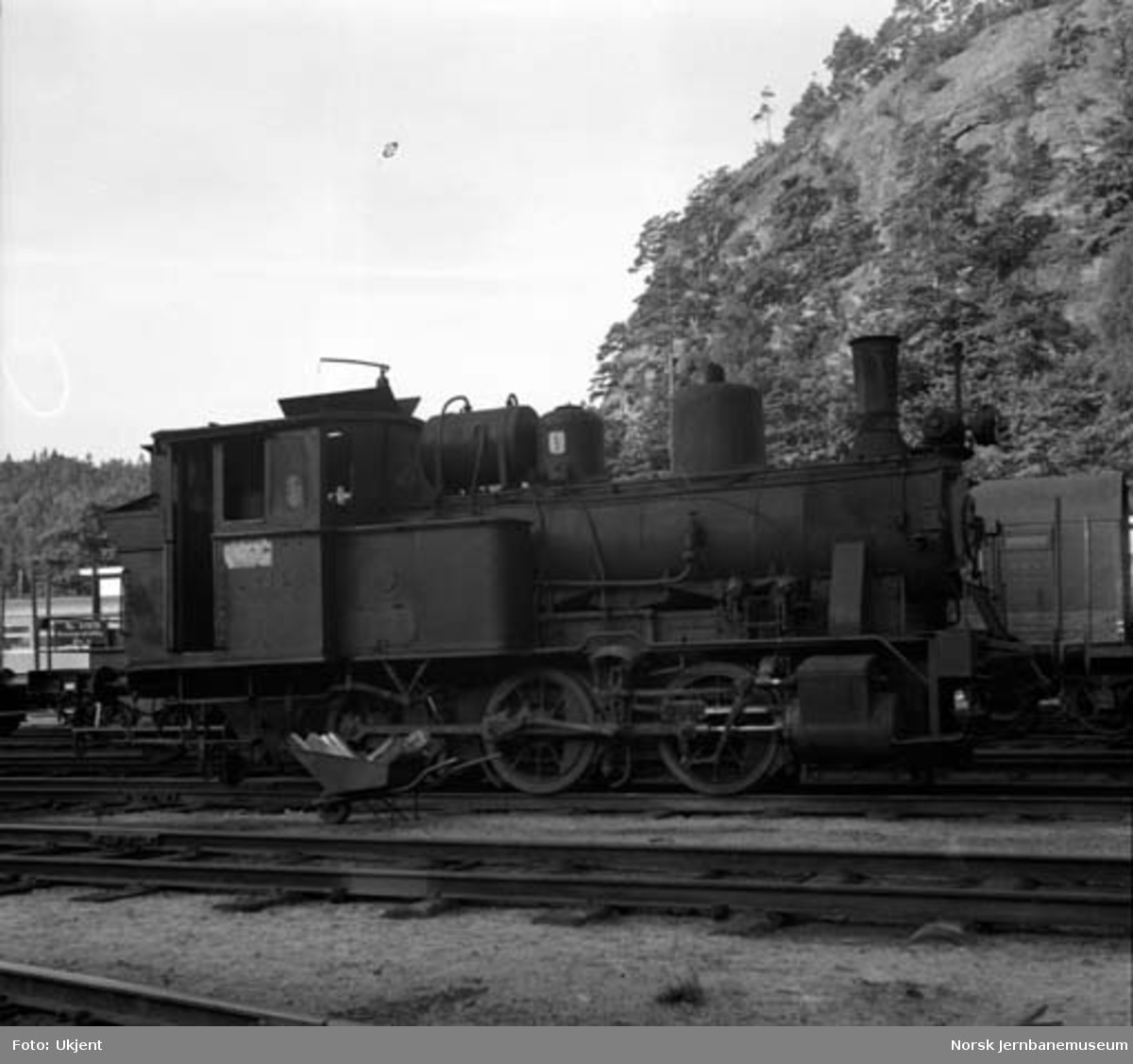 Damplokomotiv type 25a nr. 238