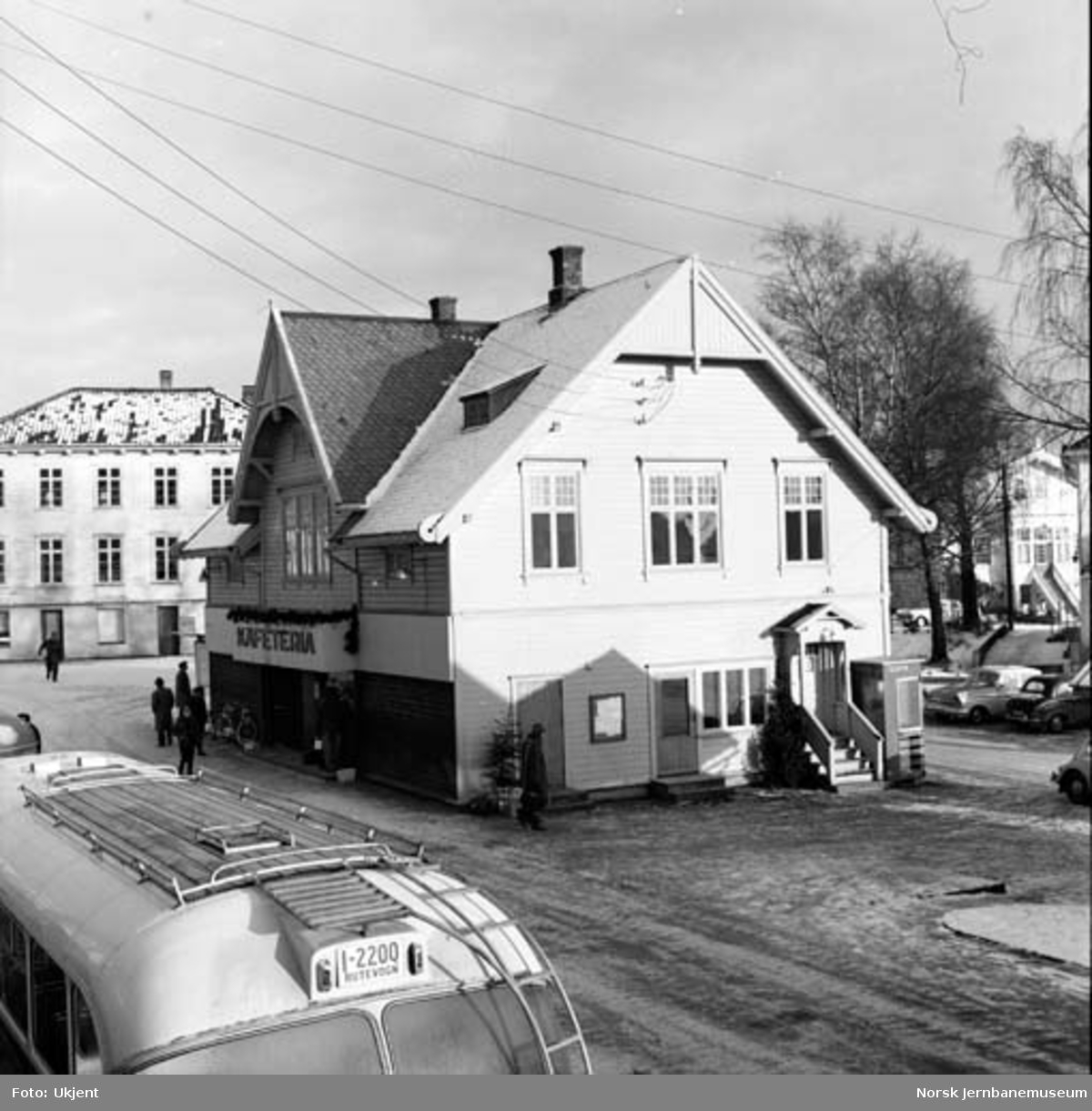 Grimstad stasjon som rutebilstasjon