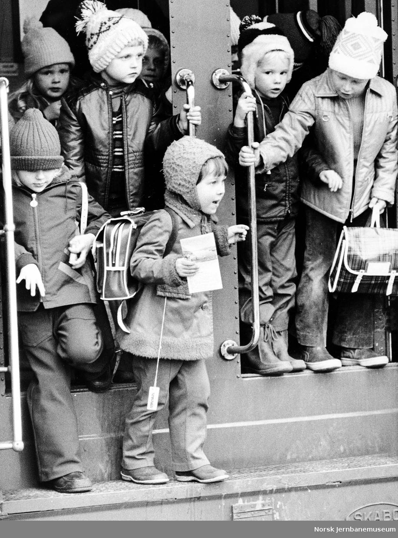 Barnehage på togtur