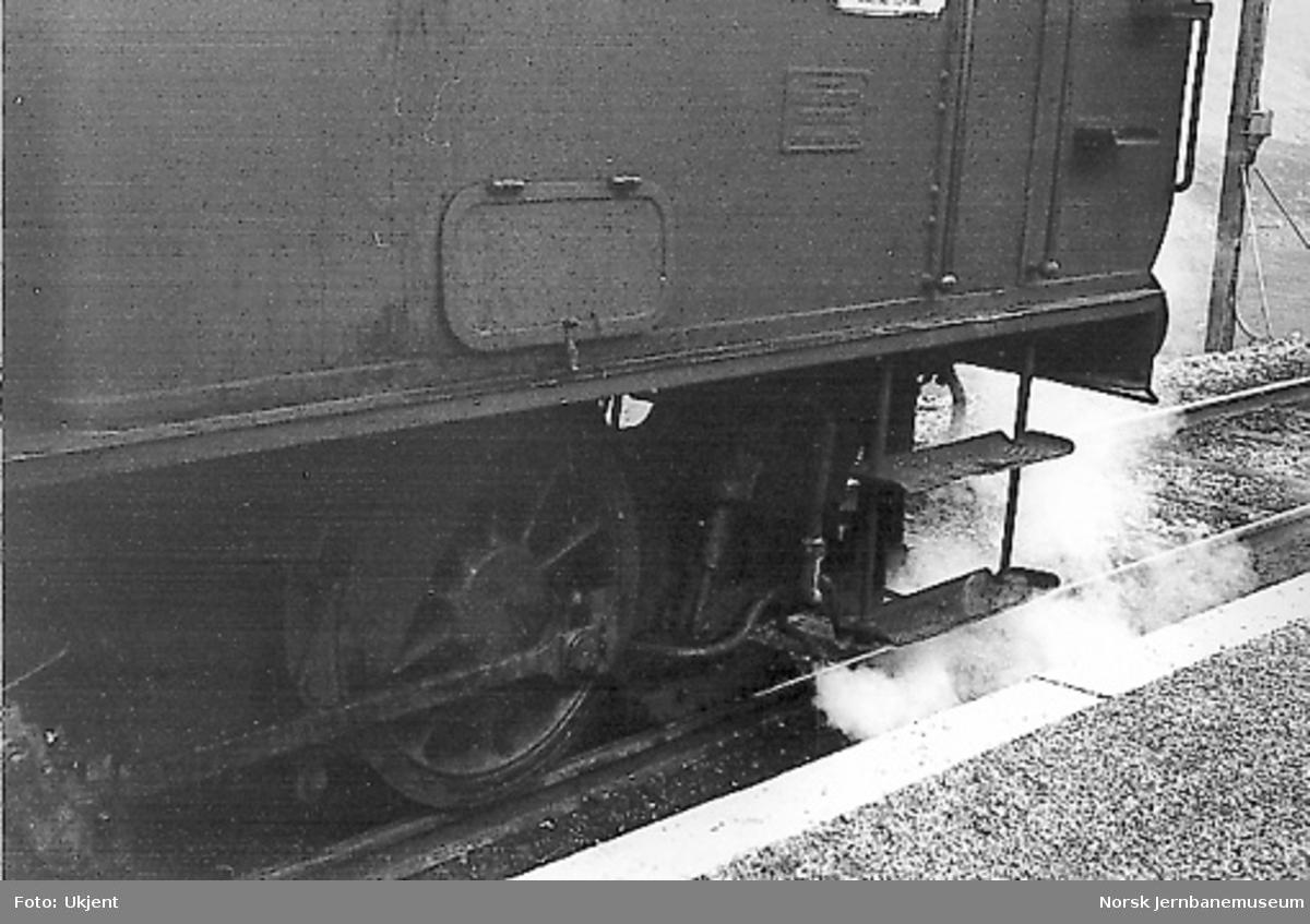 Skinnebrems på damplokomotiv type 25d