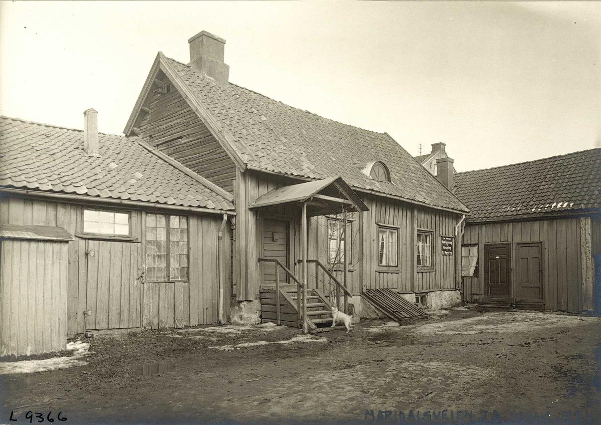 Biermannsgården, Maridalsveien 78, Oslo.
