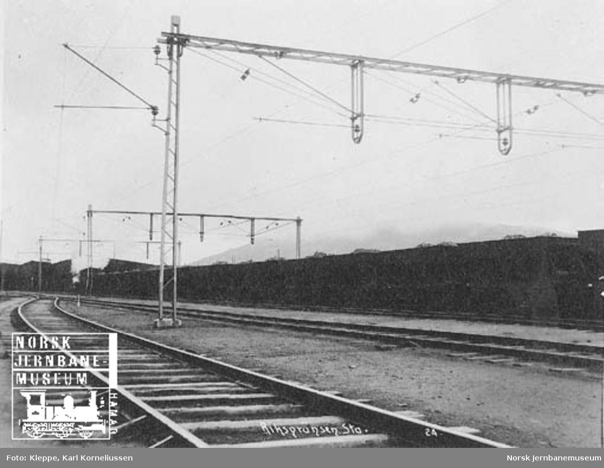 Befaring av Tromsbanen : Riksgränsen stasjon
