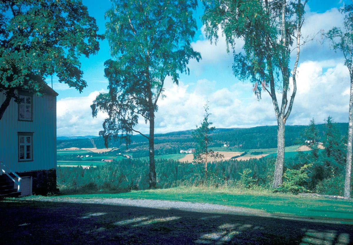 Landskap fra området rundt Egge gård. Steinkjer i Nord-Trøndelag.