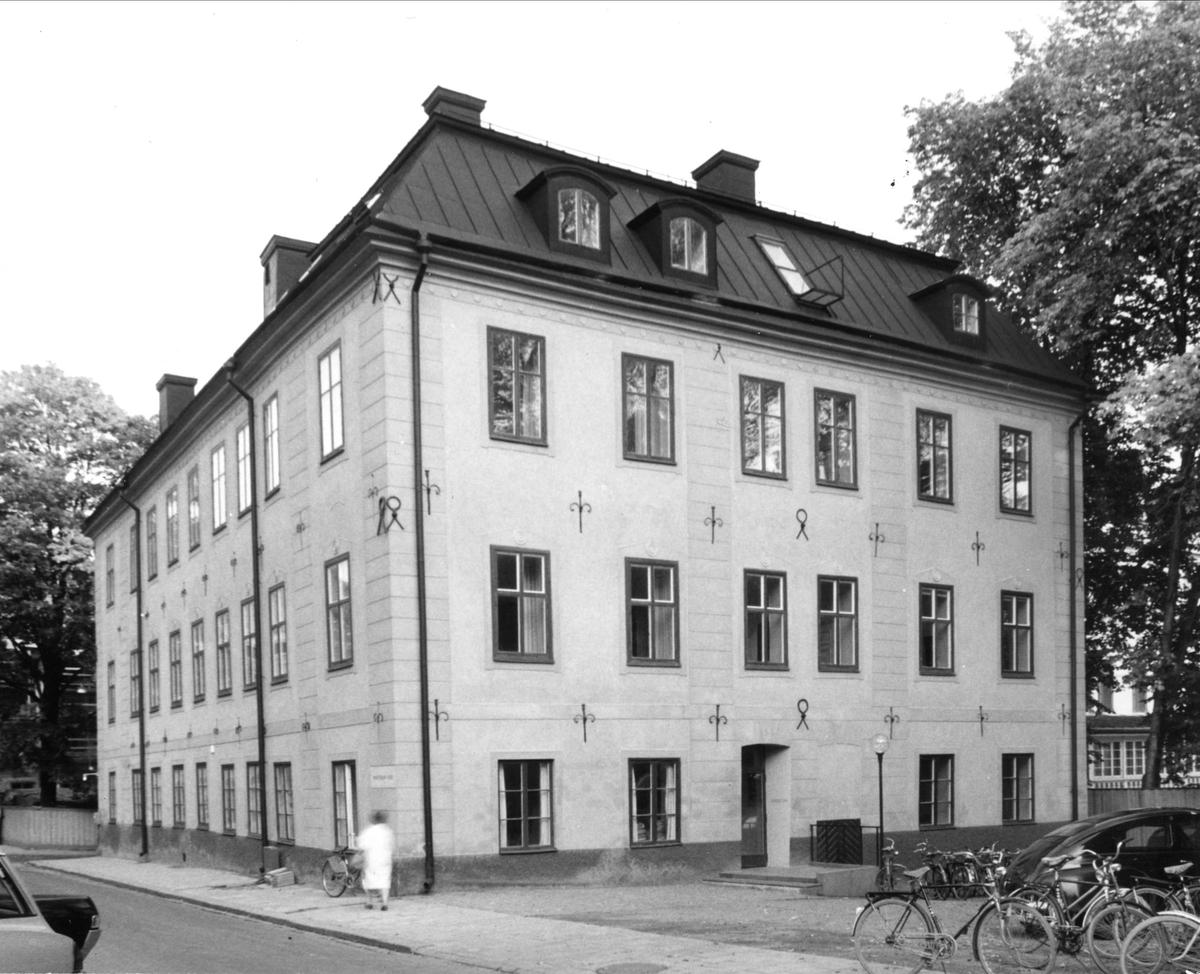 Oxenstiernska huset vid Riddartorget, kvarteret S:t Erik, Uppsala