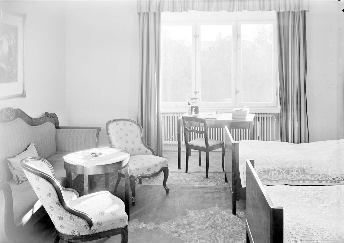 Hotellrum, Uppsala Gille, Fyristorg, Uppsala 1941
