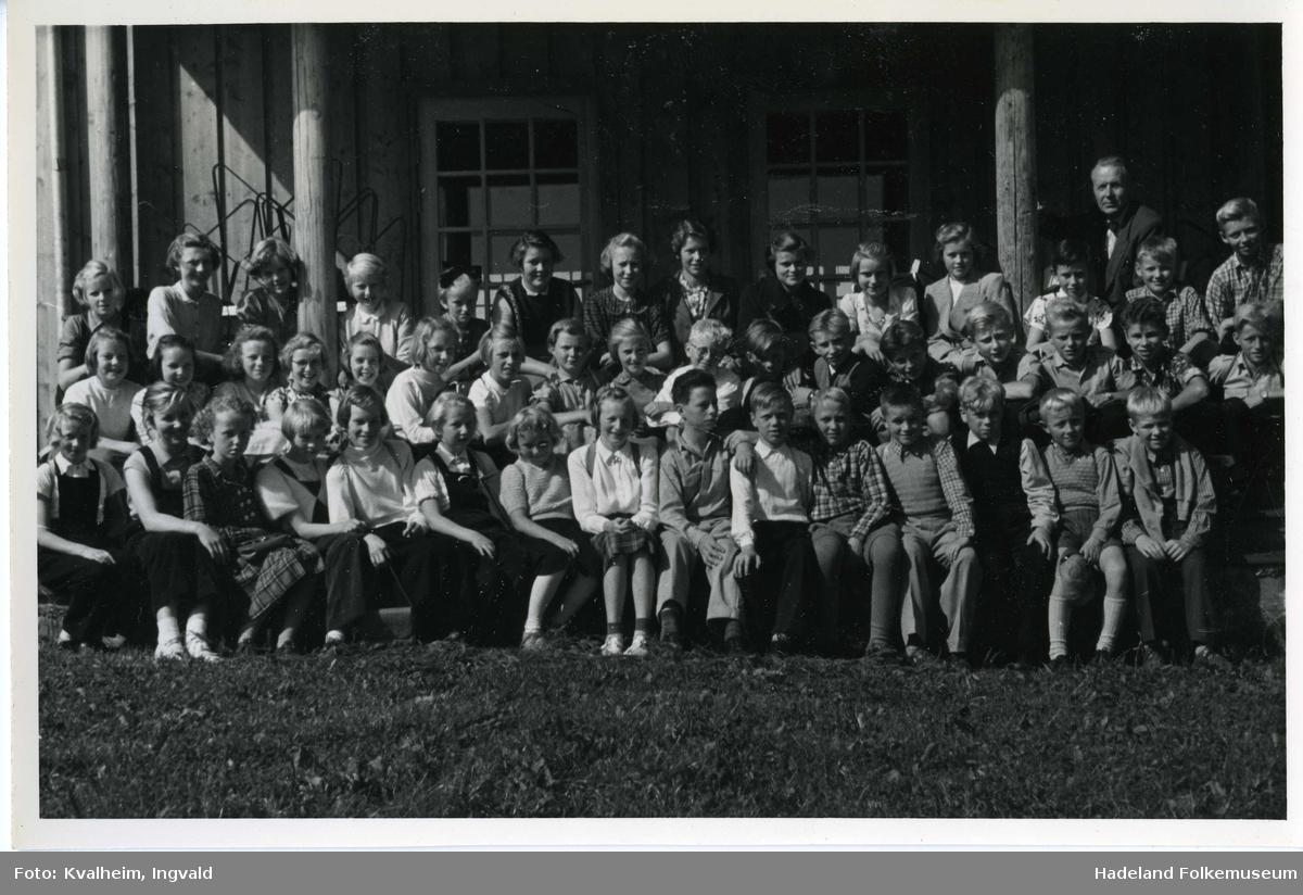 Leikvoll skole elever på skoletur