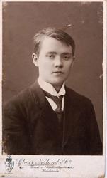 Portrett av Oluf Ågedal, Bjelland senere Audnedal.
