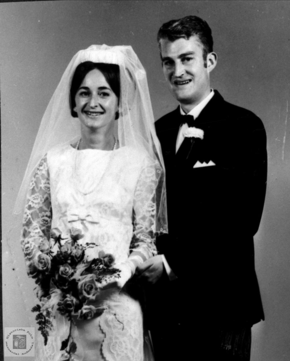 Brudeparet Vesla og Ole Egeland