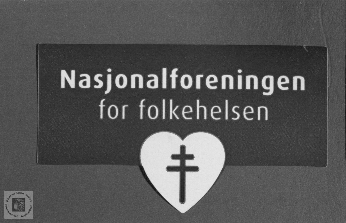 Logo. Nasjonalforeningen for folkehelsen.