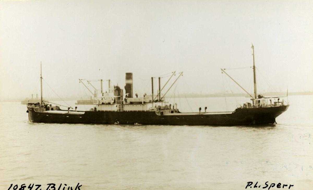 D/S Blink (Ex. Gonzenheim, Rapot, Alamak) (b.1918, J. & A. van der Schuyt Scheepserf & Maschinefabriek, Papendrecht)