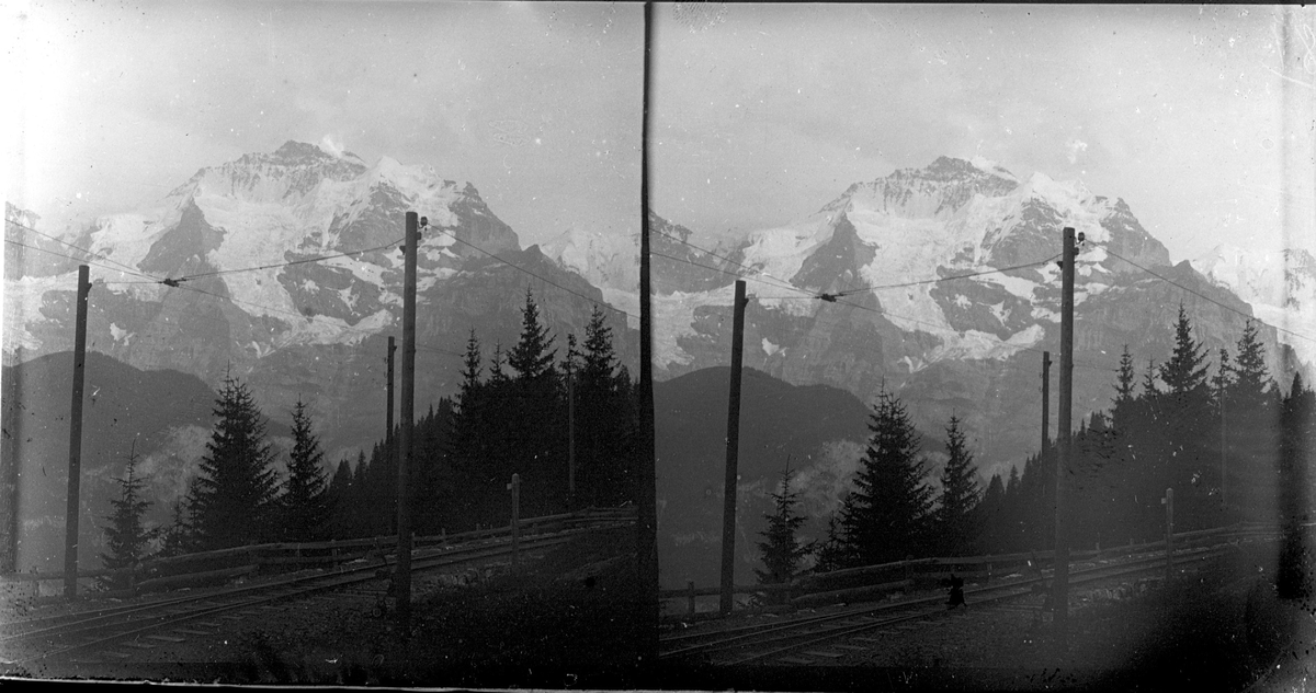Jungfrau med Murrenbahn