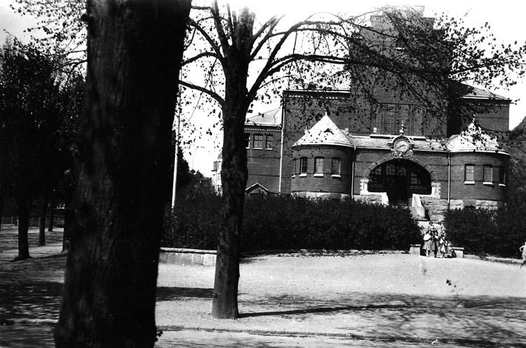 Flickskolan vid Margretegärde, Uddevalla.