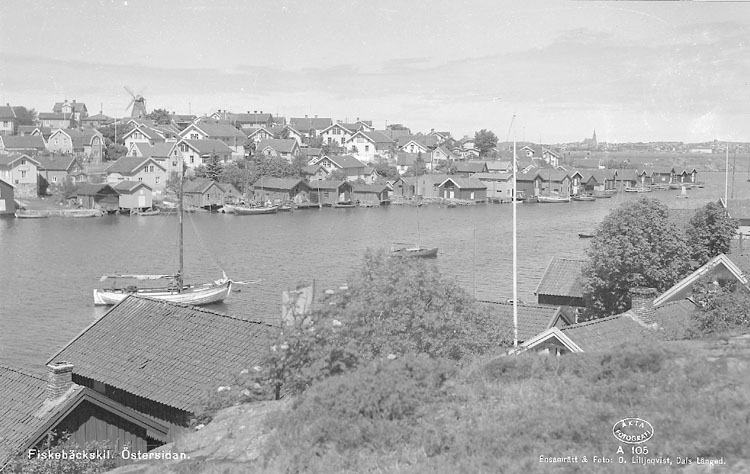 """Enligt AB Flygtrafik Bengtsfors: """"Fiskebäckskil östersidan Bohuslän""""."""