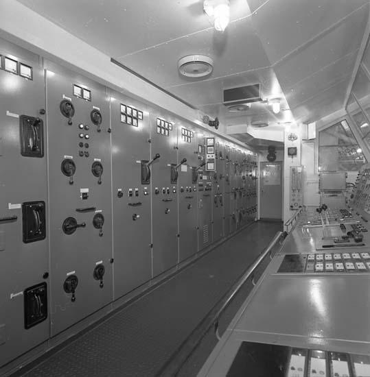 Bilder från kontrollrum på fartyg 116-119, troligen från 116 S/S Vorkuta PT 57.